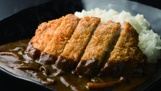 10.Japanese curry rice with fried pork