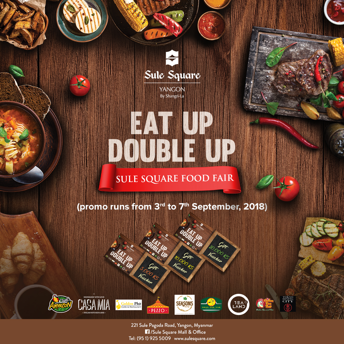 """Eat Up, Double Up"" (Sule Square Food Fair)"